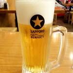 青森県むつ下北半島 - 生ビール:539円