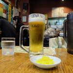 焼麺 - 生ビール(495円)