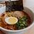 京都鉄道博物館 レストラン - 料理写真:義経号京風中華そば(800円)(2020年7月)