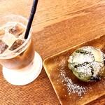 Cafe 279 - フレーバーラテと抹茶マフィン