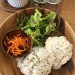 Cafe 279 - ホワイトマスタードソースのハンバーグプレート