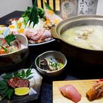 博多割烹 州二郎 - 水炊き華コース 5000円
