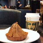 スターバックス・コーヒー - 焼き栗モンブラン、ドリップコーヒー