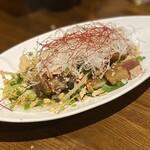 Houei - カツオと金目鯛に山椒ソース
