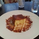 13618206 - 焦がしキャラメルの濃厚チーズケーキ