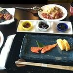 ホテル雲丹御殿 - 朝食です。