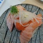 弁慶寿司 - サーモン3種
