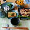 くいしんぼう - 料理写真:帰宅後の夕食食卓……〆鯖.南蛮.対象外ッス