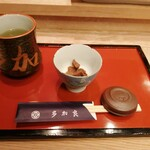 すし処 多加良 - カウンターのお膳(2020年9月)