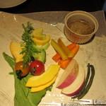 創作ダイニング 凛 - 鎌倉野菜のバーニャカウダ