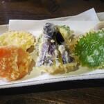 そば丸 - 野菜天ぷら