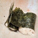 華花 - 自然薯のお刺身(漬けマグロと本日の焼魚定食)