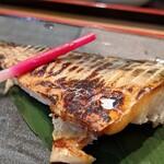 華花 - 本日の焼魚(漬けマグロと本日の焼魚定食)