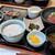 華花 - 漬けマグロと本日の焼魚定食