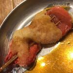 串かつ でんがな - 紅生姜