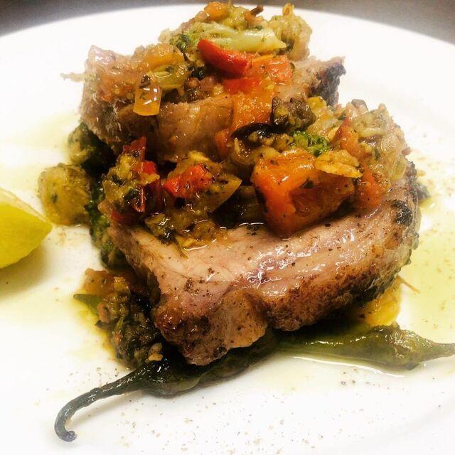 フローラの料理の写真