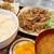 ホルモン焼 ひょうたん - 料理写真:豚肉の生姜焼(日替りランチ)