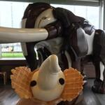 象の鼻カフェ - ゾウノハナソフトクリーム