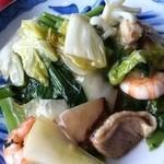 東光 - ランチの八宝菜