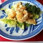 東光 - ランチの海老マヨ