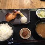 日本橋 墨之栄 - お昼の定食 1300円