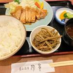 136201512 - ロース焼き定食