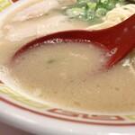 博多屋台ラーメン 一幸舎 - スープ