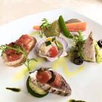 ファーレ ラ コルテ - 料理写真:前菜 5種盛り