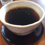 サンド太陽大地 - セットのコーヒー 250円