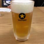 Kadoyashokudou - 生大 珍しいサッポロ生