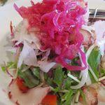 海辺のダイニング KUMFA - エスニック風・蛸サラダ 700円