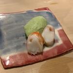 第三春美鮨 - 枝豆豆腐と車海老