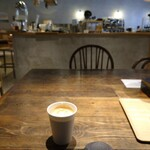 UGUISU - ホテルの朝ごはんで  バリスタさんの煎れてくれる  コーヒーが 飲める ~♪