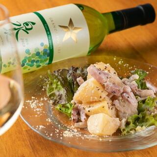 日本産のワインあります!