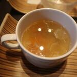 ビストロラブドッグ - セットのスープ