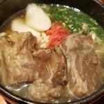 Okinawasakabaminsa - ソーキそば(760円)