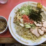 一龍 - 冷やし中華つけ麺 850円