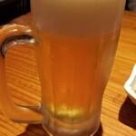 沖縄酒場みんさぁ - オリオンドラフト生(500円)