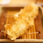 新宿 立吉 - 秋刀魚の紫蘇巻き