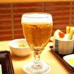 新宿 立吉 - アサヒスーパードライの生ビール