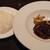 ふれんち食堂 ぴん - 豚バラ肉の赤ワイン煮込み 1,000円