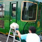 四国まんなか千年ものがたり - 讃岐財田駅では猫がお見送り
