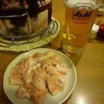 13623168 - 豚ホルモン 400円!!