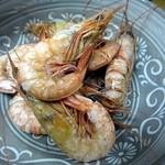 さかなでいっぱい - 川津エビの唐揚げ 味噌が詰まっています!