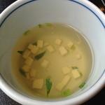 五右衛門  - ランチスープ
