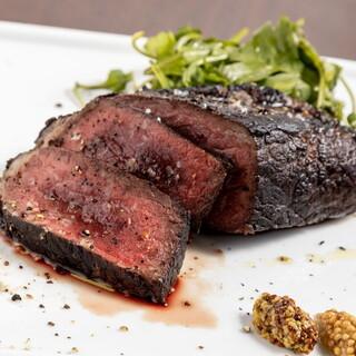 料理長厳選のお肉、東海地方の厳選魚介と野菜