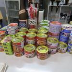 笹屋 - 缶詰コーナー