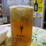 笹屋 - ウーロンハイ(200円)