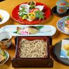 桔梗 - 料理写真:昼食コース¥4500の一例季節に合わせたそば会席