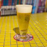 カラアゲとクラフトビール タンサンバルポゴ - うちゅうブルーイング SOUTHEN LIGHTS